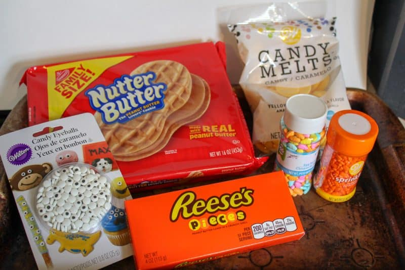 Nutter Butter Cookie Easter Treat Idea Ingredients