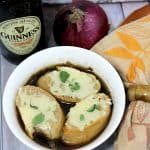 Crockpot French Onion Soup with Guinness