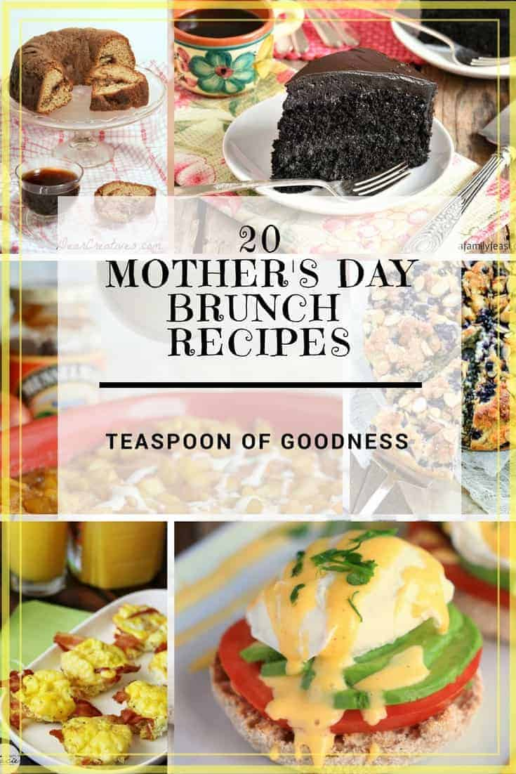 20 mother 39 s day brunch recipes teaspoon of goodness. Black Bedroom Furniture Sets. Home Design Ideas