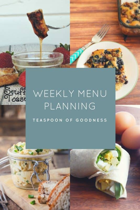 Meal planning just got easier with this weeks meal plan! Delicious breakfast, lunch and dinner all in one place! Inexpensive meals that are often ready without a lot of work.