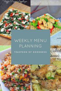Weekly Menu Plan – Week 6