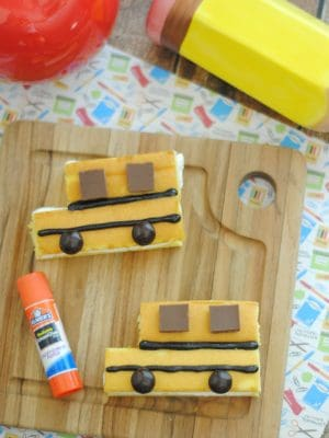 After School Snacks – School Bus Treats