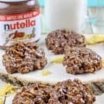 Nutella Cornflake No Bake Treats