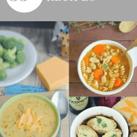4 pictures of soup in a winter soup roundup