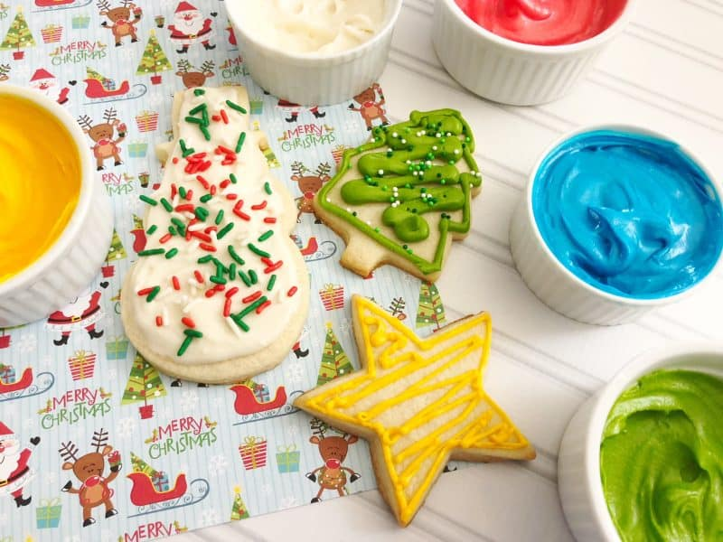 My Families Best Cookie Decorating Icing | Teaspoon Of Goodness