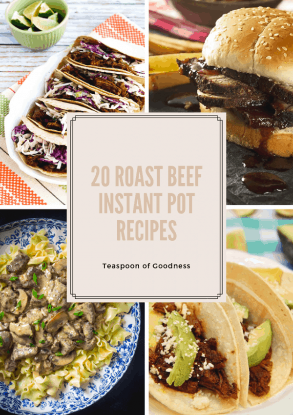 20 Instant Pot Beef Recipes