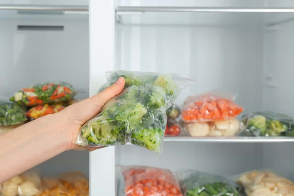 Keeping your broccoli in the freezer