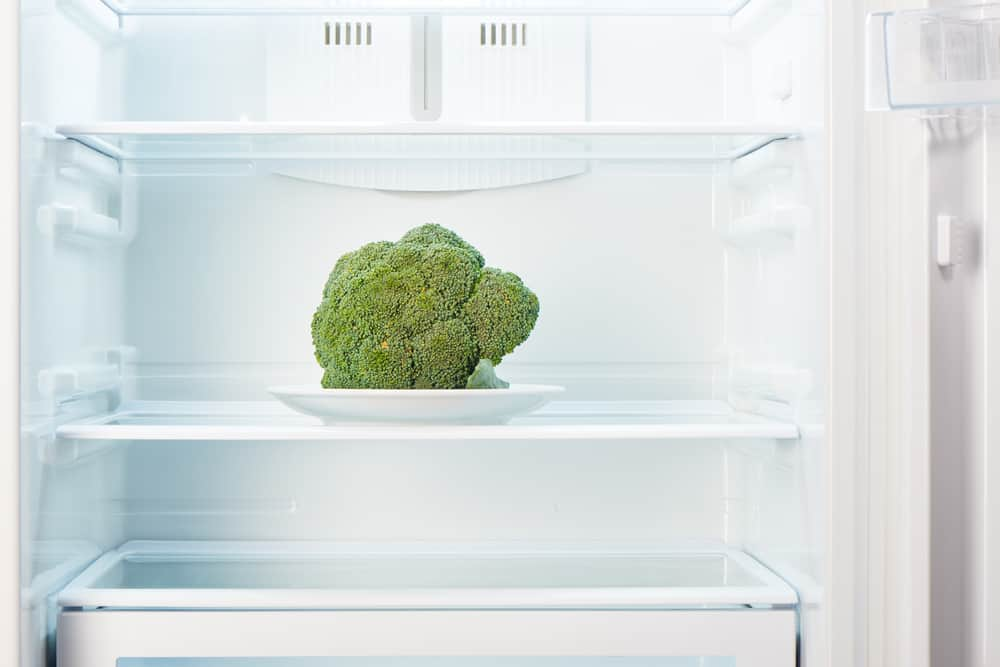 Keeping your broccoli in the refrigerator