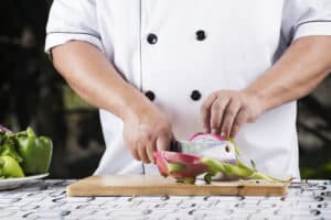 How To Cut A Dragon Fruit