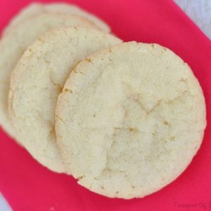 Grandma's Easy Sugar Cookie Recipe